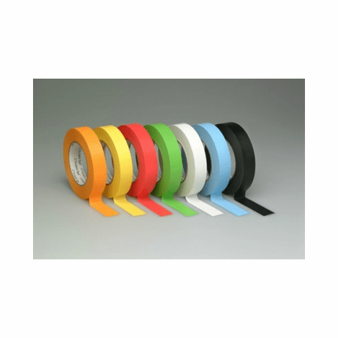 """1/2"""" Colored Pro Console Label Tape - Case of 72 Rolls (6 Colors)"""