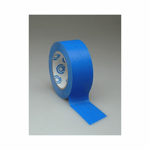 "2"" Pro Scenic Blue Easy Release Masking Tape - Case of 24 Rolls"