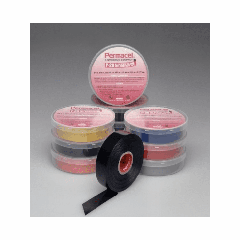 """3/4"""" x 66' Pro 28 Premium All-Weather Vinyl Electrical Tape - Per Roll (9 Colors)"""