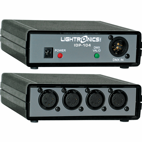 4 Output DMX Opto-Isolator - Portable or Wall Mount