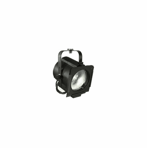 "65Q Black 6"" 750 Watt Quartz Focusing Fresnel with Medium Prefocus Socket"