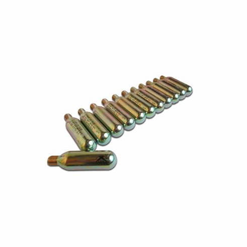 8-Gram CO2 Cylinder Threaded Cartidges - 12ct.