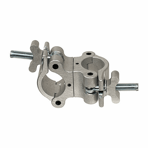 90 Degree Fixed Coupler - Silver