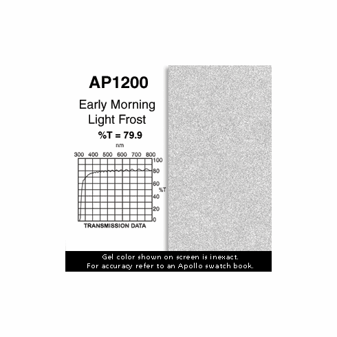 "Apollo 1200 - Early Morning Frost - Ten 20"" x 24"" Sheets"