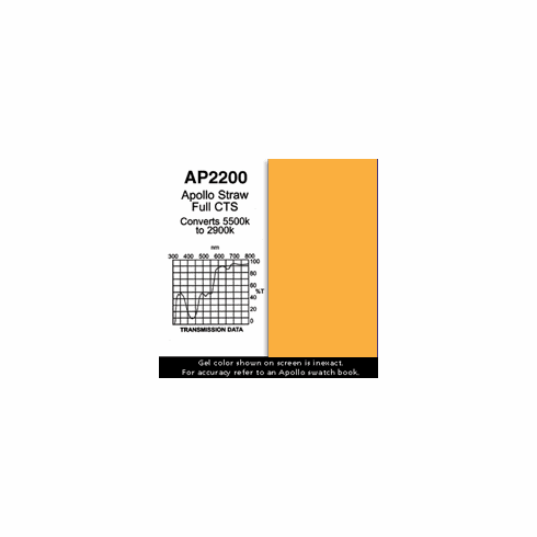 "Apollo 2200 - Straw Full CTS - Ten 20"" x 24"" Sheets"