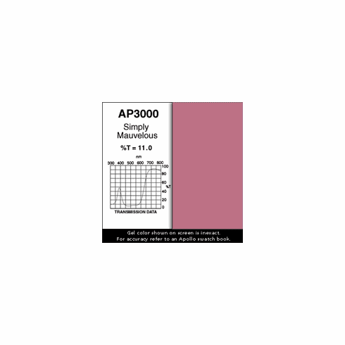"Apollo 3000 - Simply Mauvelous - Ten 20"" x 24"" Sheets"