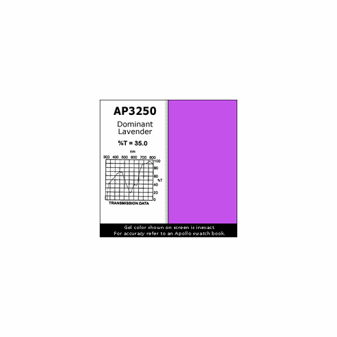 "Apollo 3250 - Dominant Lavender - Ten 20"" x 24"" Sheets"