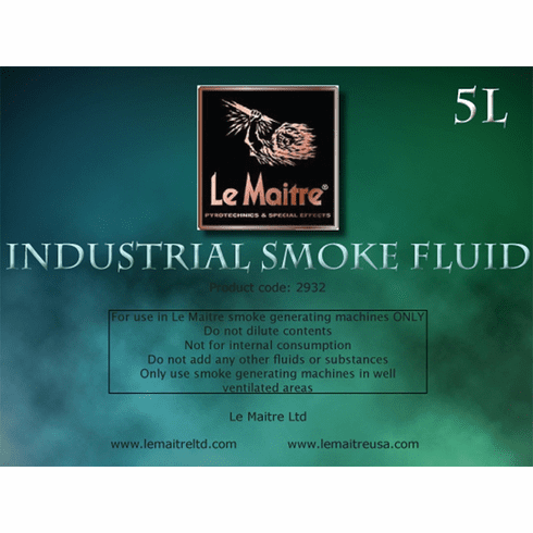 Industrial Smoke Fluid - Case of Four 4L Bottles