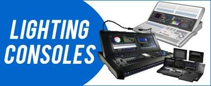 LIGHTING CONSOLES AND CONTROLLERS