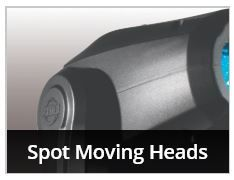 SPOT MOVING HEADS