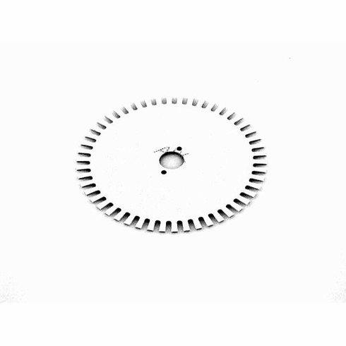 Opto encoder wheel - #18400030