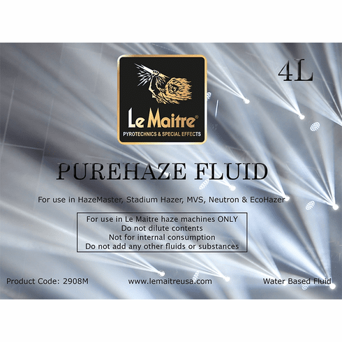 Pure Haze Fluid - 4L Bottle