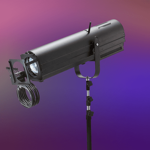 SAI 300 230W LED Followspot with Stand