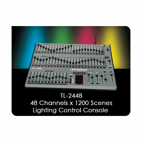 TL-2448 48 Channel x 1200 Scene Lighting Control Console