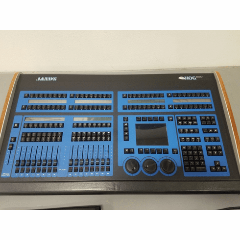 Used Hog 1000 Console - Includes Road Case
