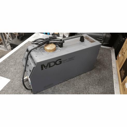 Used MDG 3000 APS Fog Machine with Extras