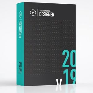 Vectorworks Designer 2019 with Renderworks (Upgrade from 2016)