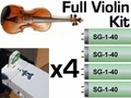 Violin Kit with F64 Fixtures (now with UV glasses)