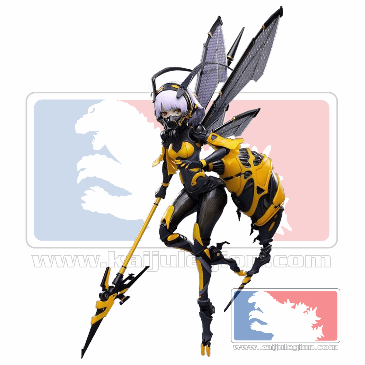 Bun-Chan Wasp Girl 1/12 Scale Action Figure Model Kit BEE-03W