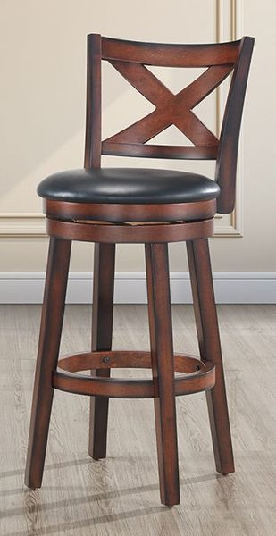 """Alexia Brown Counter Height Chair 29"""" by Milton Greens Stars"""