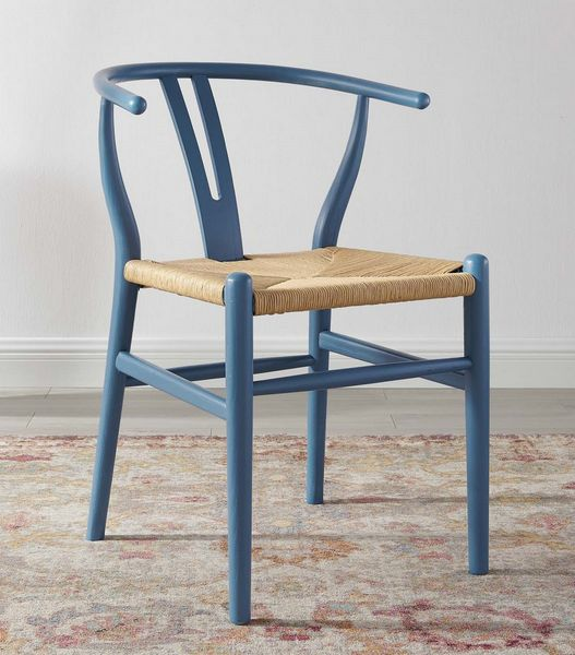 Amish Harbor Chinese Hardwood/Paper Rope Side Chair by Modway