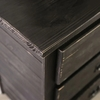 Ampelios Wire-Brushed Black Wood Chest by Furniture of America