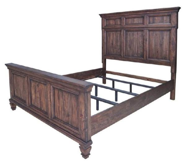 Avenue 5-Pc Burnished Brown King Bed Set (Oversized) by Coaster