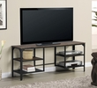 Bandile Brown Wood/Gray Metal TV Stand by Best Quality Furniture