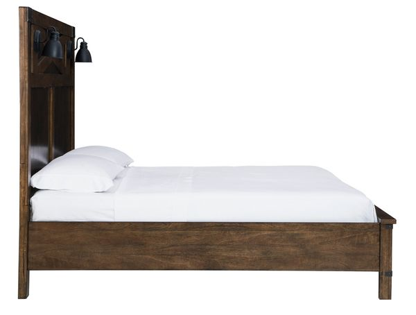 Benchcraft Wyattfield Two-Tone Wood Queen Storage Bed by Ashley