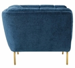 Bestow Navy Crushed Performance Velvet Chair by Modway