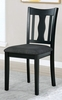 Carbey 5-Pc Dark Gray/Black Dining Table Set by Furniture of America