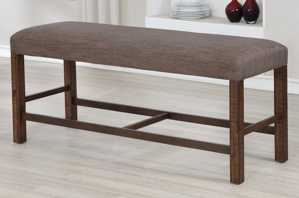 Carmina 6-Pc Brown Counter Height Table Set by Milton Greens Stars