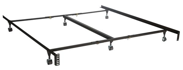 Classic Clamp Queen/King/Cal King Frame with 6 Legs by Maxim Mattress