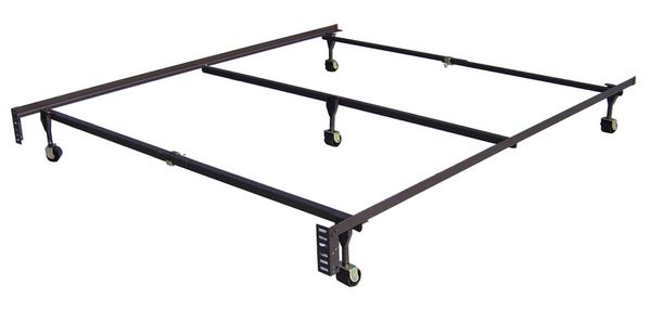 Classic Clamp Twin/Full/Queen Frame with 5 Legs by Maxim Mattress