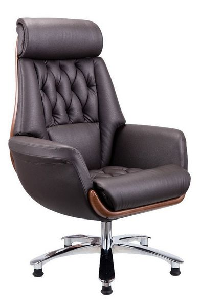 Dayna Brown Faux Leather Office Chair by American Eagle Furniture