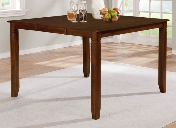 Derby Brown Extendable Counter Height Table by Milton Greens Stars