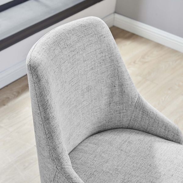 Designate Gray Fabric Office Chair by Modway