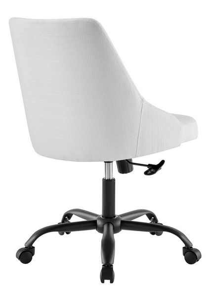 Designate White Fabric Office Chair by Modway