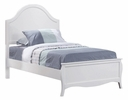 Dominique 5-Pc White Wood Full Panel Bedroom Set by Coaster