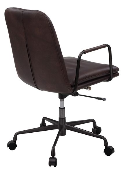 Eclarn Mars Leather/Metal Office Chair by Acme