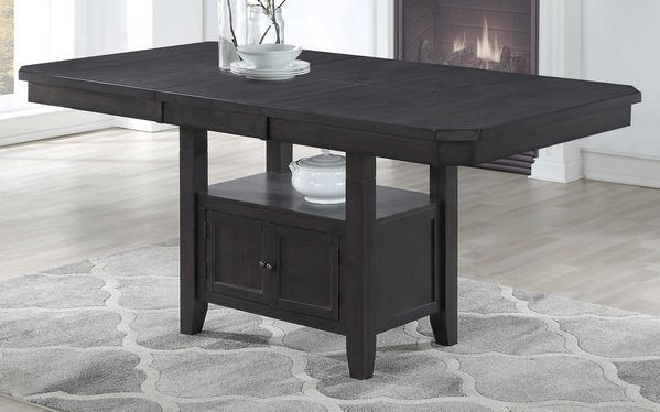 Edna Gray Wood Extendable Counter Height Table by Milton Greens Stars