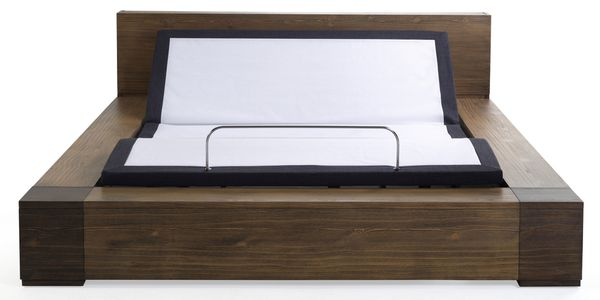 Eir Queen Adjustable Power Bed Base by South Bay