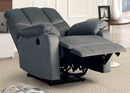 Gloria Gray Fabric Power Recliner by Milton Greens Stars