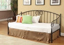Grover Black Metal Twin Daybed by Coaster