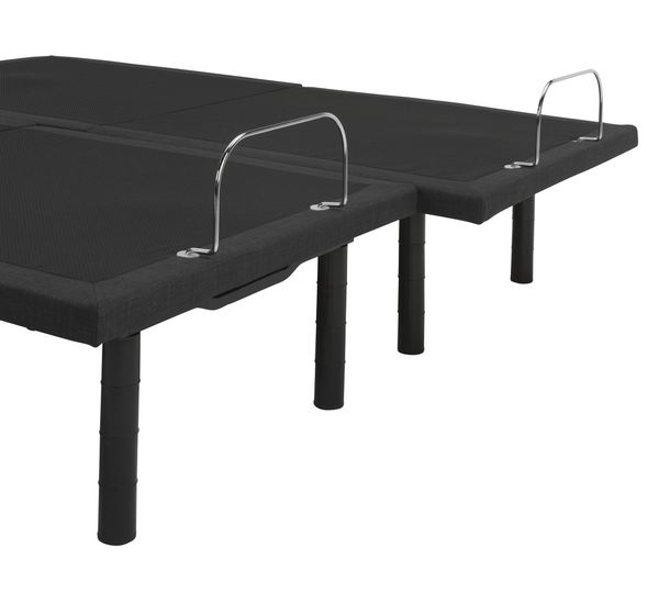 Gwen Cal King Split Adjustable Power Bed Base by South Bay