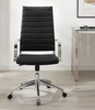 Jive Black PU Leather Highback Office Chair by Modway
