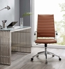 Jive Terracotta PU Leather Highback Office Chair by Modway