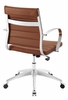 Jive Terracotta PU Leather Mid Back Office Chair by Modway