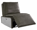 Metier Gray Leather/Metal Power Recliner by Acme