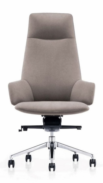 Modrest Gates Grey Leatherette Office Chair by VIG Furniture